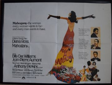 Mahogany (1975) - Diana Ross | UK Quad Film Poster